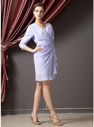 chiffon mother of the bride dresses for women