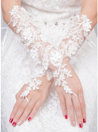 Tulle Ladies' Gloves Bridal Gloves Fingerless 35cm(Approx.13.78inch) Gloves