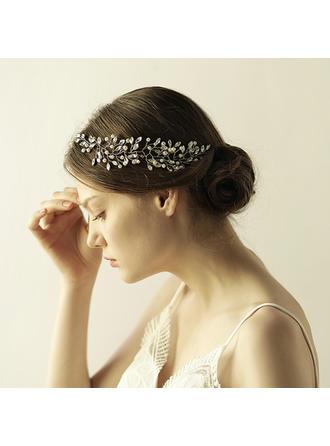 Elegant Alloy/Glass Headbands (Sold in single piece)
