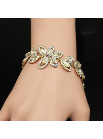 "Bracelets Alloy/Rhinestones Ladies' Beautiful 7.09""(Approx.18cm) Wedding & Party Jewelry (011167923)"