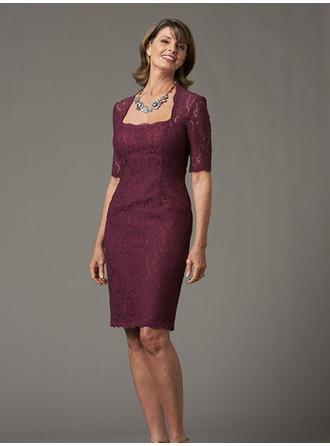 Knee-Length Mother of the Bride Dresses With Lace
