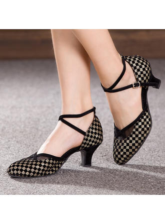 Women's Ballroom Suede Dance Shoes
