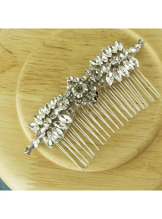 Elegant Alloy Combs & Barrettes (Sold in single piece)