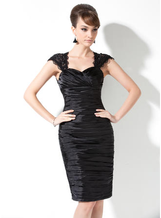 Newest Sweetheart Sheath/Column Charmeuse Mother of the Bride Dresses