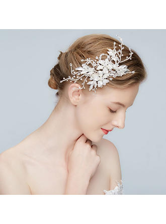 Classic Alloy Hairpins With Rhinestone/Crystal (Sold in single piece)