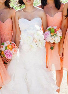 tulle bridesmaid dresses uk