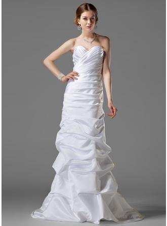 Chic Атлас Свадебные платья (002001182)