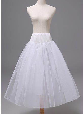 Petticoats Polyester Flower Girl Slip 2 Tiers Wedding Petticoats (037190893)