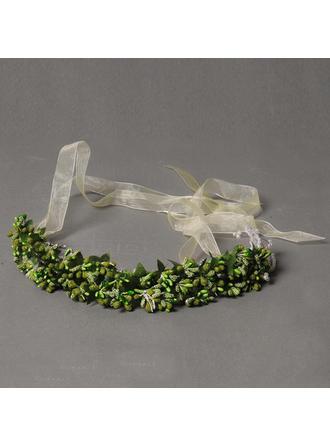 "Headbands Wedding/Special Occasion Rhinestone/Artificial Silk 9.84""(Approx.25cm) 1.97""(Approx.5cm) Headpieces"