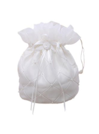 Bridal Purse Wedding/Ceremony & Party Satin Tether closure Lovely Clutches & Evening Bags