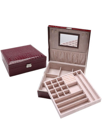"Jewelry Box Wood 10.24""(Approx.26cm) 10.24""(Approx.26cm) Wedding & Party Jewelry (011168120)"