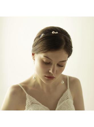 """Stirnbänder Hochzeit/besondere Anlässe/Party Faux-Perlen 16.93""""(Ungefähre 43cm) 0.59""""(Ungefähre 1.5cm) Kopfschmuck"""