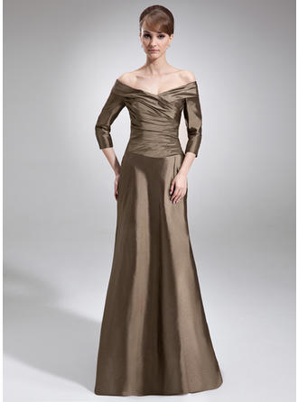 Elegant Taffeta Off-the-Shoulder A-Line/Princess Mother of the Bride Dresses