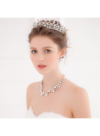 """Tiaror Wedding/Särskilda tillfällen/Party Legering 6.69""""(Ungefärlig 17cm) 4.72""""(Ungefärlig 12cm) Hårsmycken"""