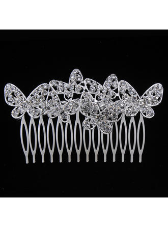 "Combs & Barrettes Wedding/Special Occasion/Party Alloy 3.58""(Approx.9.1cm) 2.24""(Approx.5.7cm) Headpieces"