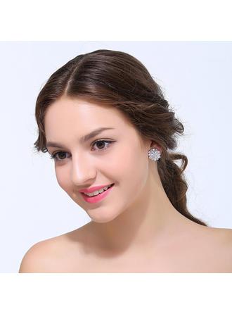 Ohrringe Zirkon Ohrclip Damen Anhänger Hochzeits- & Partyschmuck