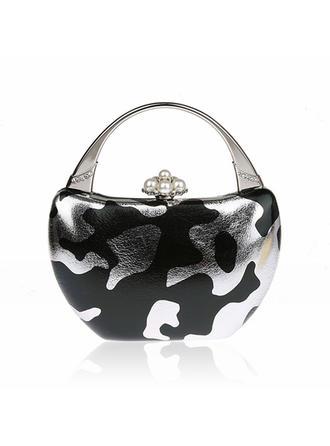 Elegante PU Embreagens/Bolsa de Pulso/Moda Bolsas/Embreagens de Luxo