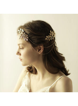 "Combs & Barrettes Wedding Alloy 10.24""(Approx.26cm) 3.15""(Approx.8cm) Headpieces"