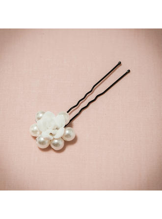 "Hairpins Wedding/Special Occasion/Party Imitation Pearls/Polymer Clay 2.76""(Approx.7cm) 1.18""(Approx.3cm) Headpieces"