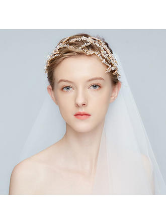 Unique Alloy Tiaras With Rhinestone/Crystal (Sold in single piece)