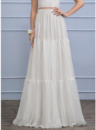 Chiffon With Chic General Plus Wedding Dresses