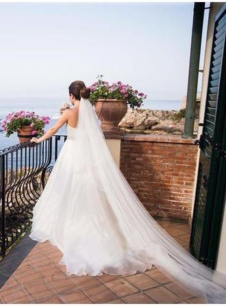chiffon wedding dresses beach wedding