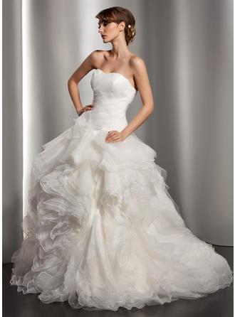 cheap long sleeve backless wedding dresses