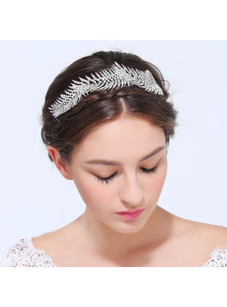 Ladies Exquisite Alloy Headbands With Rhinestone (042125571)