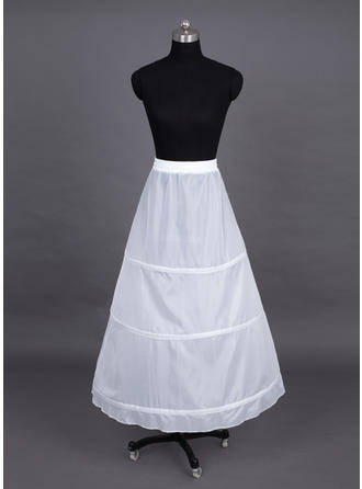 Petticoats Tea-length Nylon A-Line Slip/Full Gown Slip 1 Tiers Petticoats (037190685)