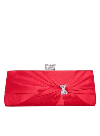Handtaschen Zeremonie & Party Satin Schnippen Verschluss Prächtig Clutches & Abendtaschen