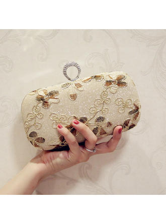 "Clutches/Satchel/Totes Wedding/Ceremony & Party PU Kiss lock closure 7.87""(Approx.20cm) Clutches & Evening Bags"