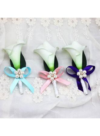 "Boutonniere/Men's Accessories Free-Form Wedding Ribbon 4.72""(Approx.12cm) Wedding Flowers"