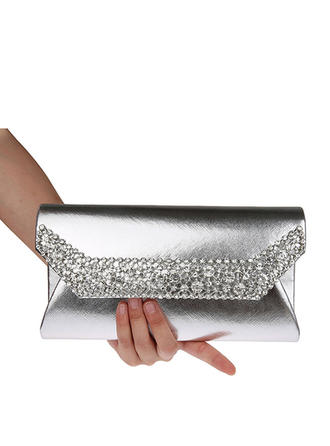 Clutches Wedding/Ceremony & Party PU Snap Closure Refined Clutches & Evening Bags