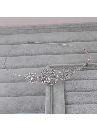 """Tiaras Wedding Rhinestone/Alloy 4.53""""(Approx.11.5cm) 0.98""""(Approx.2.5cm) Headpieces"""