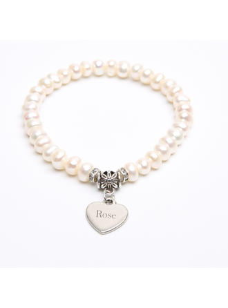 "Bracelets Pearl Ladies' Personalized 2.76""(Approx.7cm) Wedding & Party Jewelry"