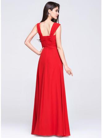 empire-line long evening dresses