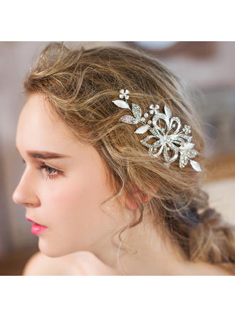 "Combs & Barrettes Wedding/Special Occasion/Party/Art photography Rhinestone/Imitation Pearls 4.92""(Approx.12.5cm) 2.36""(Approx.6cm) Headpieces"