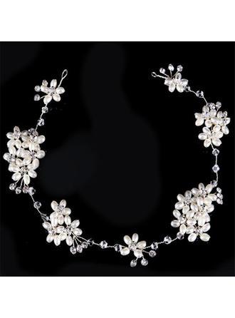 Elegant Strass/Faux-Perlen Stirnbänder (In Einem Stück Verkauft)