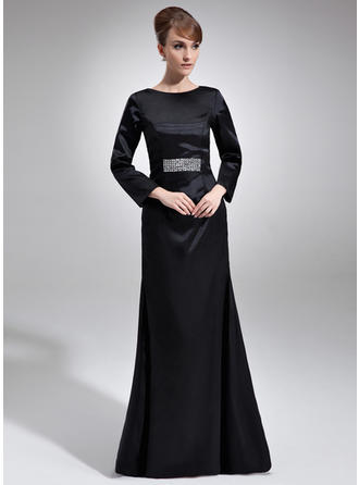 Glamorous Charmeuse Scoop Neck Sheath/Column Mother of the Bride Dresses