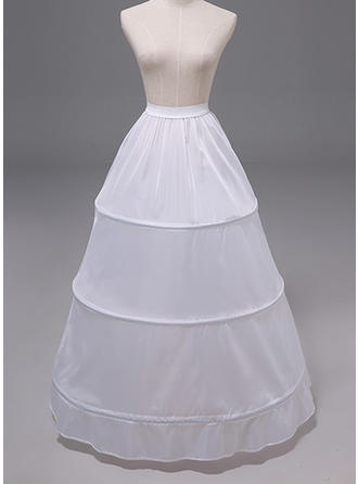 Petticoats Polyester A-Line Slip 1 Tiers Wedding Petticoats (037190876)