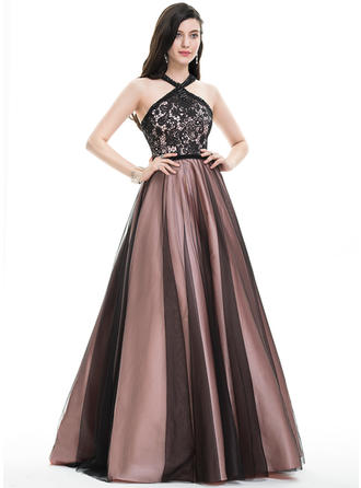 Luxurious With Ball-Gown Tulle Prom Dresses