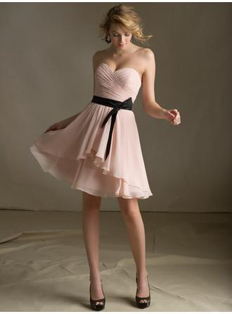 Short/Mini Prom Dresses With Bow(s)