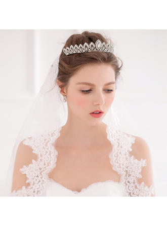 "Tiaras Wedding/Special Occasion Alloy 5.91""(Approx.15cm) 3.15""(Approx.8cm) Headpieces"