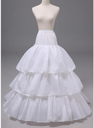 Petticoats Polyester A-Line Slip 4 Tiers Wedding Petticoats (037190880)