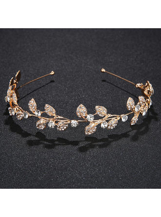 "Tiaras Wedding/Special Occasion/Party Alloy 5.12""(Approx.13cm) 1.18""(Approx.3cm) Headpieces"