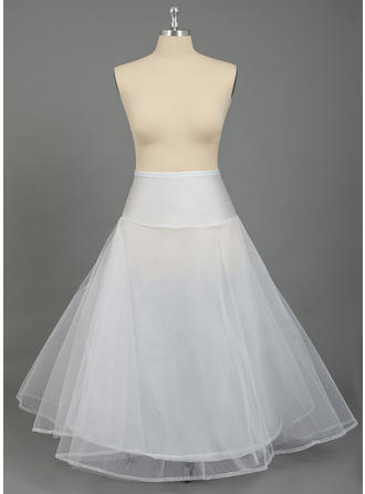 PLUS SIZE Petticoats Nylon/Tulle Netting A-Line Slip/Full Gown Slip 2 Tiers Wedding/Special Occasion Petticoats