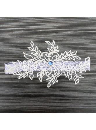 Garters Bridal Wedding Lace With Flower/Lace Garter (104196528)