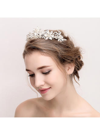 Ladies Exquisite Rhinestone/Alloy Tiaras (042118169)