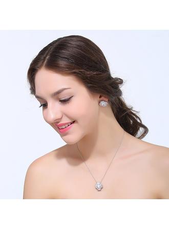 Jewelry Sets Zircon Cubic Zirconia Lobster Clasp Pierced Wedding & Party Jewelry