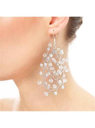 Elegante Diamantes de imitación con Rhinestone Señoras' Pendientes